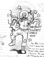 Monster Astronaut Dance by KruddMan
