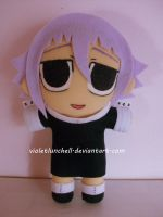 Soul Eater Crona plushie by VioletLunchell