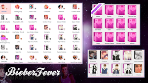 Bieberfever for Iconpackager by a-Sonrix