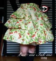 Strawberry skirt by zeloco