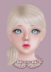 Pastel Doll by marviiee
