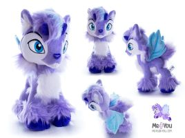 Neopets Faerie Ixi plushie by meplushyou