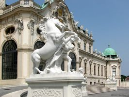 Belvedere Palace Detail 1 by ArtOfTheMystic