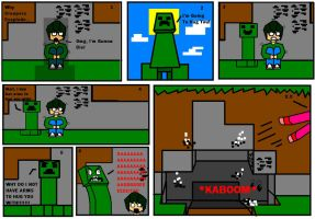 Why Creepers Exsplode by Coonbutt