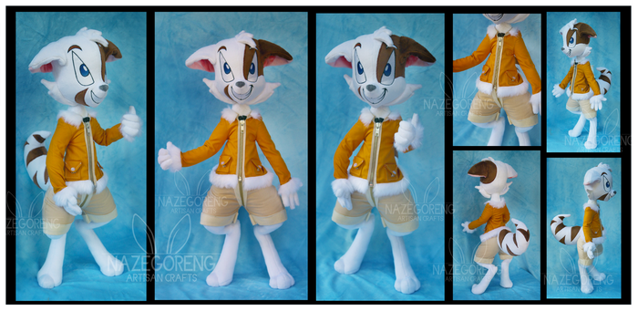 Mace from Dreamkeepers Custom Plush by Nazegoreng
