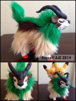 Gogoat Soft Sculpture by LeluDallas