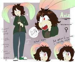 Aviz mothmom REF (persona) by LionMushrooms