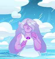 Amethyst sea by Defektess