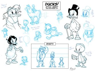Disney Ducks Guide by AdamMasterman