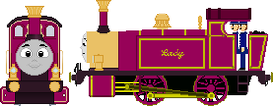 Lady the Magical Engine 2.0 by JediRhydon501st