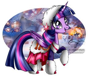 Winter Pony - Twilight Sparkle by tiffanymarsou