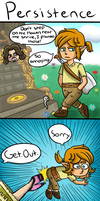 Legend of Zelda Breath of the Wild: Persistence by thegamingdrawer
