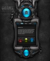 Gearz Interface wip by simonohm
