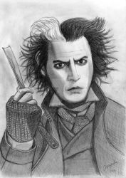 Sweeney Todd by elodie50a