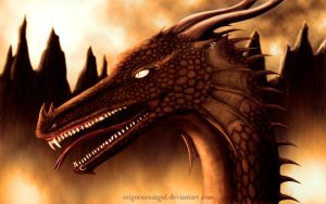 Dragon #4 (old drawing) by SeigneurNazgul