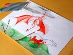 The Welsh Dragon by SpacePopeII