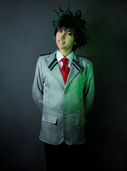 Deku uniform cosplay by Andivicosplay