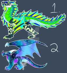 Dragon Adopt Its (2/2 Open) by QueenOfDragonFire