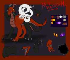 Malgroth reference Sheet by SpontaneousFork