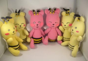 KKM: Bearbee plush hive pt2 by pandari