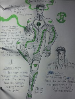 DC Redesign: Emerald Guardians: Hal Jordan by wallaswells1