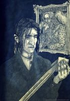 Severus and Sword (For Joeyv7) by RosaZaira
