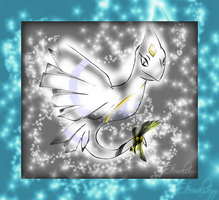 Angelic Lugia/Lapras/Dunsparce Pokemon/Fakemon by Eternalskyy