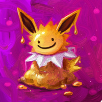 melty jolteon by Cortoony
