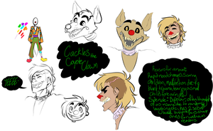 Cackles the Coyote Clown by Saaiie