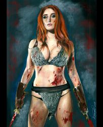 Red Sonja by AriannedeLima