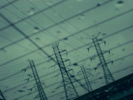 Power-Lines in the Fog by ChibiStarChan