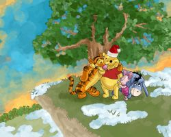 Christmas with Pooh by bonbon3272