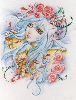 Pisces no Albafica by lilie-morhiril