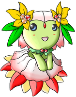 Fakemon: Mega Bellossom by DiamondShatter