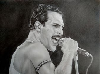Freddie Mercury by Pedro8360