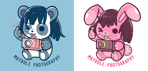 Maybole Photography Mascot Drawings - COMMISSION by SarahRichford