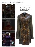 Trek textures for V3 Tunic by mdbruffy