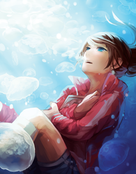 Sleeping with the fishes by corowne