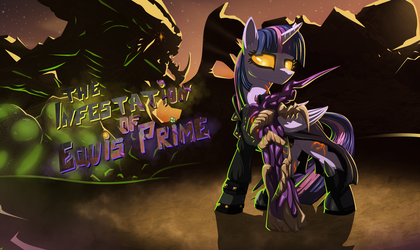 The Infestation of Equis Prime Cover by Sw1tchbl4de