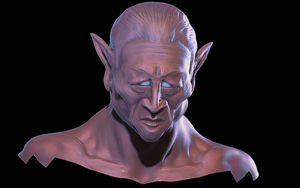 Elf Sculpt - Work in Progress by NewWorldOrphans