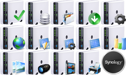 Synology Dock Icons by Presto-X