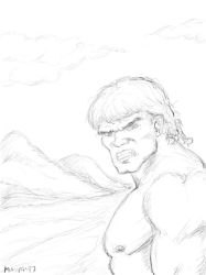 Hulk (Ferrigno-style) on the road... by maxpa27