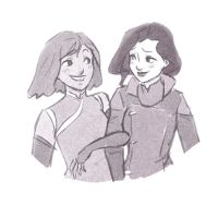 Because these two! by bealor