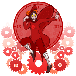 Aradia - BUST A MOVE by raynalin