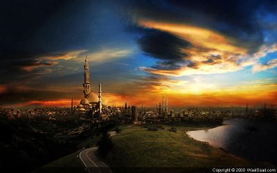 the city wallpaper by dpainter