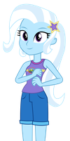 Vector - Camp Everfree Trixie by SketchMCreations