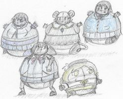 CM: Five Levels of Roundness by Ambipucca