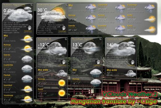 VClouds Weather 2 HU MOD by Csige