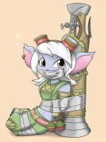 Taped Tristana by nivek15