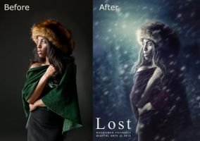 Before-After Lost by DigitalDreams-Art